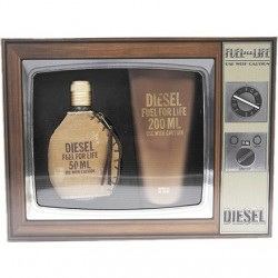 DIESEL -  FUEL FOR LIFE HOMME EDT 50ML + SHOWER GEL 200ML SET REGALO