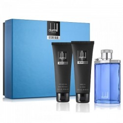 DUNHILL DESIRE BLUE EDT 100 ML + A/ S BALM 90 ML + S/GEL 90 ML SET REGALO