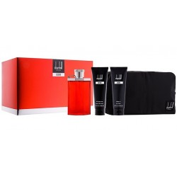 DUNHILL DESIRE RED MEN EDT 100 ML + A/S BALM 90 ML + GEL 90 ML + NECESER SET REGALO