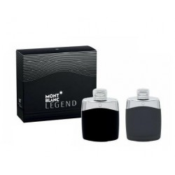 MONT BLANC LEGEND EDT 100 ML + AFTERSHAVE 100 ML SET REGALO