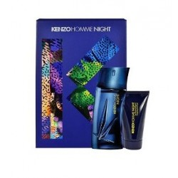 KENZO POUR HOMME NIGHT EDT 100 ML + SHOWER GEL 50 ML + NECESER SET REGALO
