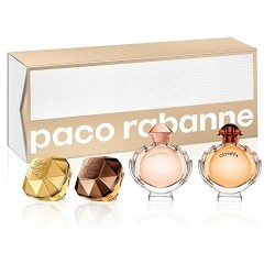 PACO RABANNE MINIATURAS MUJER X 4 UDS SET REGALO