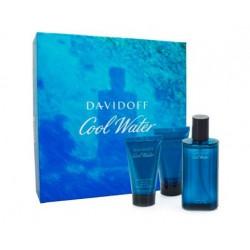 DAVIDOFF COOL WATER MEN EDT 75ML +S/G 50 + A/S 50 ML SET REGALO