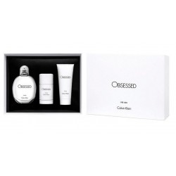 CALVIN KLEIN CK OBSESSED FOR MEN EDT 125 ML+ B/L + DEO STICK SET REGALO