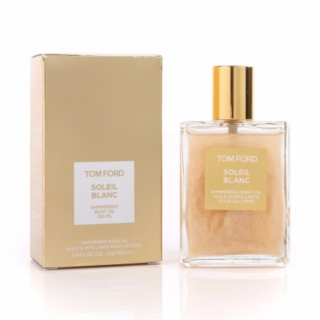 tom ford soleil blanc shimmering body oil 100 ml - perfumeterapia