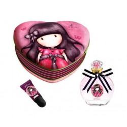 comprar perfumes online GORJUSS EDT 50 ML + BRILLO DE LABIOS EN ESTUCHE DE METAL mujer