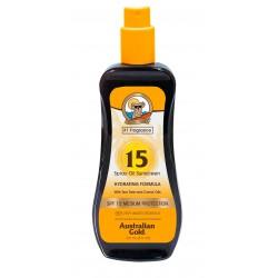 AUSTRALIAN GOLD SPRAY OIL ACEITE BRONCEADOR SPF 15 237 ML