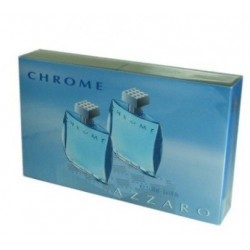 AZZARO CHROME EAU DE TOILETTE SPRAY 2X30ML