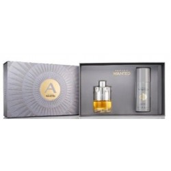 AZZARO WANTED ESTUCHE EDT 100 ML + DEODORANT SPRAY 150 ML