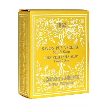 LE COUVENT DES MINIMES JABÓN VEGETAL PURO MIEL & KARITE 100 GR danaperfumerias.com/es/