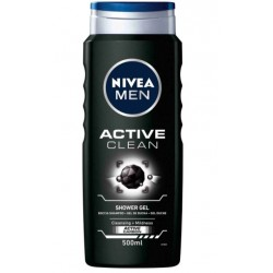 NIVEA MEN GEL DE DUCHA ACTIVE CLEAN 500ML danaperfumerias.com/es/