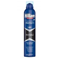 WILLIAMS DESODORANTE INVISIBLE 48 H SPRAY 200ML