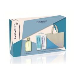 comprar perfumes online unisex EAU DE LANCASTER EDT 125 ML + B/L 200 ML + GEL 200 ML + BOLSO SET REGALO