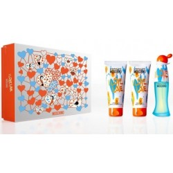 MOSCHINO CHEAP & CHIC I LOVE LOVE EDT 50 ML + B/L 100 ML + S/GEL 100 ML SET
