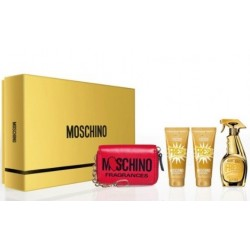 MOSCHINO GOLD FRESH COUTURE EDP 100 ML SPRAY + B/LOC 100 ML + GEL 100 ML SET REGALO