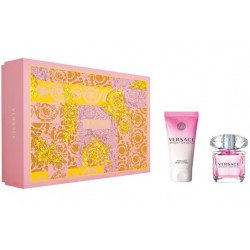 VERSACE BRIGHT CRYSTAL EDT 30 ML + B/L 50 ML SET REGALO