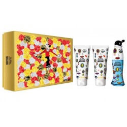MOSCHINO CHEAP & CHIC SO REAL EDT 50 ML + B/L 100 ML + GEL 100 ML SET REGALO