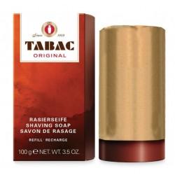 TABAC ORIGINAL BARRA DE JABON PARA AFEITADO RECARGA 100GR danaperfumerias.com/es/
