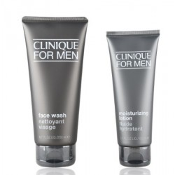 CLINIQUE FOR MEN JABON LIQUIDO FACIAL 200ML + LOCION HIDRATANTE 100ML