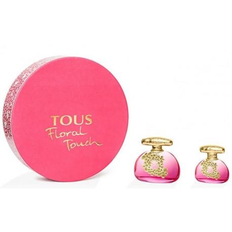 comprar perfume TOUS FLORAL TOUCH EDT 100 ML + EDT 30ML SET REGALO danaperfumerias.com