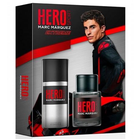 MARC MARQUEZ HERO SPORT EXTREME EDT 100ML VAPO + DESODORANTE SPRAY  150ML SET REGALO
