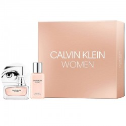 CALVIN KLEIN WOMEN EDP 100 ML + B/LOC 100 ML SET REGALO