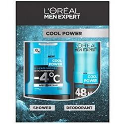 L'OREAL MEN EXPERT COOL POWER DESODORANTE 150ML + GEL 300ML