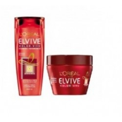 L'OREAL ELVIVE COLOR-VIVE MASCARILLA PROTECTORA 300ML + CHAMPU 250ML