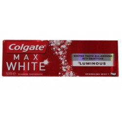 COLGATE MAX WHITE LUMINOUS PASTA DENTAL 50ML