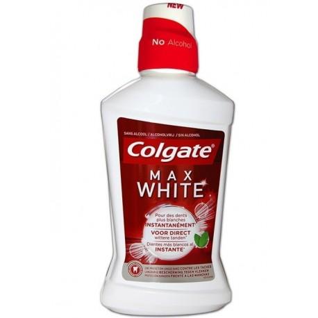 COLGATE MAX WHITE ENJUAGUE BUCAL 250ML