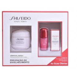 SHISEIDO ESSENTIAL ENERGY GEL CREMA HIDRATANTE 50ML + 2 MUESTRAS SET REGALO