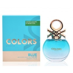 BENETTON COLORS BLUE EDT 50 ML VAPORIZADOR