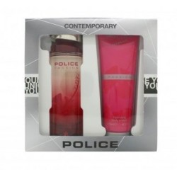 POLICE PASSION WOMAN EDT 100ML VAPORIZADOR + SHOWER GEL 100ML SET REGALO