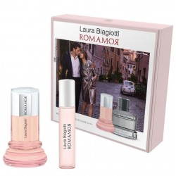 LAURA BIAGIOTTI ROMANOR WOMAN EDT 25ML + EDT 10ML SET REGALO