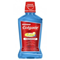 COLGATE TOTAL AZUL 12 HORAS PRO GUARD ENJUAGE BUCAL 500ML
