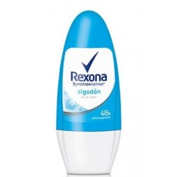 REXONA ALGODON DESODORANTE ROLL ON 50ML