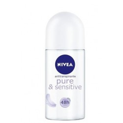 NIVEA SENSITIVE PURE DESODORANTE ROLL ON 50ML