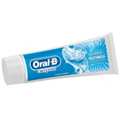 ORAL B COMPLETE PASTA DE DIENTES+ENJUAGUE BUCAL MENTA 100 ML