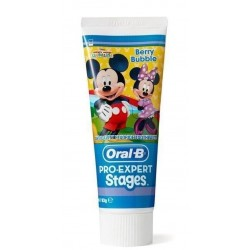 ORAL B STAGES PASTA DENTAL INFANTIL 75ML