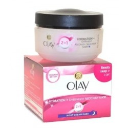 OLAY NIGHT CREAM MASK 2EN1 50ML