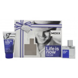 MEXX LIFE IS NOW EDT 30 ML + S/G 50 ML SET REGALO