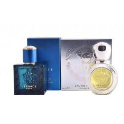 Comprar perfumes online set VERSACE EROS FEMME EDT 30 ML + VERSACE EROS HOMME EDT 30ML