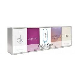 comprar perfumes online CALVIN KLEIN 5 MINIATURAS SET REGALO mujer