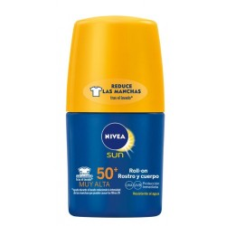 NIVEA SUN ROLL-ON ROSTRO & CUERPO SPF 50+ 50 ML