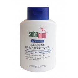 SEBAMED FOR MEN ENERGIZING HAIR AND BODY WASH 200 ML