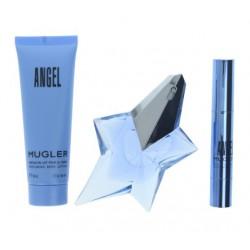 THIERRY MUGLER ANGEL EDP 25 ML + BODY LOCION 50 ML + MINI 3 GR. SET REGALO