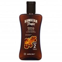 HAWAIIAN TROPIC ACEITE SECO SPF 2 200 ML