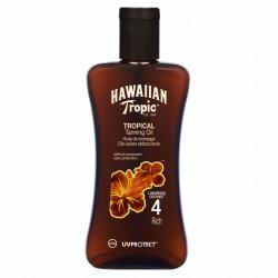 HAWAIIAN TROPIC ACEITE SECO SPF 4 200 ML