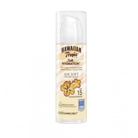 HAWAIIAN TROPIC SILK HYDRATION AIRSOFT SUN LOTION SPF 15 150 ML danaperfumerias.com/es/