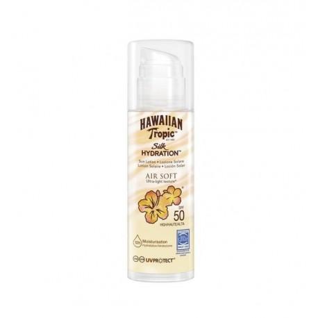 HAWAIIAN TROPIC SILK HYDRATION AIRSOFT SUN LOTION SPF 50 150 ML danaperfumerias.com/es/